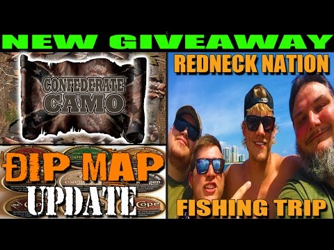 Redneck Nation Fishing Trip (NEW Giveaway) (Dip Map Update)