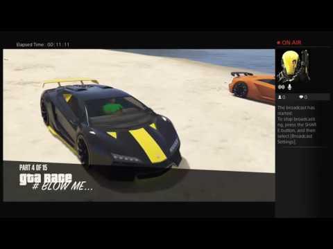 GTA5 ONLINE RACES W/ GOON!