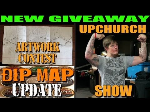 Upchurch (the redneck) Show NEW Confederate Camo Giveaway