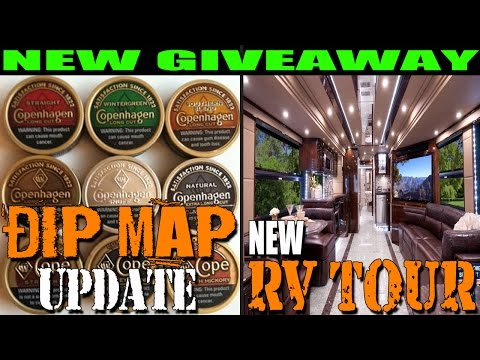DIP MAP UPDATE! RV WALKTHROUGH (Redneck Nation)