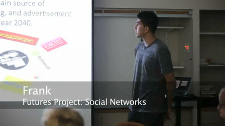 Foresight 2012 - Social Networks