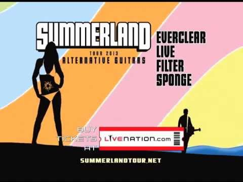 Summerland Tour 2013 Alternative Guitars