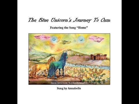 The Blue Unicorn's Journey To Osm Book Trailer -- Home