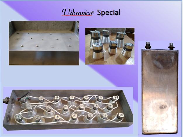Vibronics Ultrasonic Transducer boxes