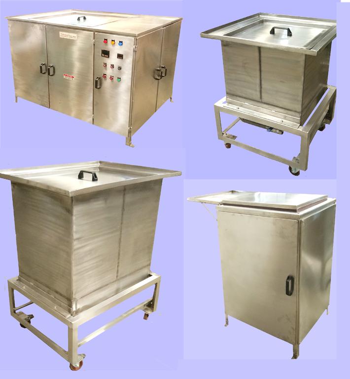 Tanks for ultrasonic, rinsing, dipping, Spray Etc.