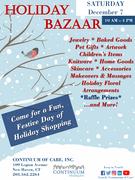 Continuum Holiday Bazaar