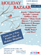 Continuum Holiday Bazaar