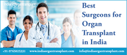Top Surgeons for Organ Transplant in India