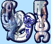 Aynjewl Faycc Logo blue