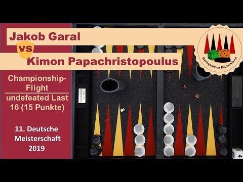 Jakob Garal(UKR) vs  Kimon Papachristopoulos (GER)