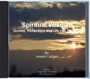 Spiritual Wisdom CD Released