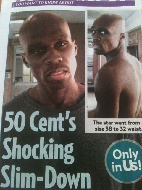 50 Cent Loses Shocking 60 Pounds For Role In New Movie Things Fall