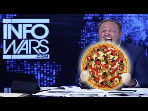 Lawyers and MSM Team Up To FRAME Alex Jones with Pizza