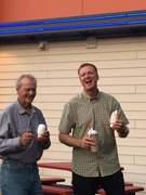 Jim Pletcher and Gary