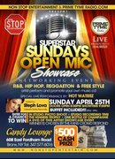 SUPER STAR SUNDAYS ARTIST SHOWCASE 2010 @ THE CANDY LOUNGE BX HOSTED BY STEPH LOVA