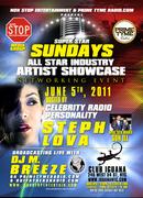 SUPER STAR SUNDAYS ARTIST SHOWCASE JUNE 5TH @ CLUB IGUANA NYC HOSTED BY STEPH LOVA PT # 1