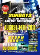 SUPER STAR SUNDAYS ARTIST SHOWCASE AUG 14 @ CLUB IGUANA NYC HOSTED BY STEPH LOVA PT # 1