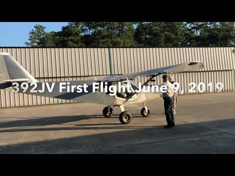 392JV First Flight