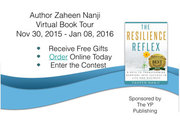 Learn The Secret Formula for Building Your Resilience - Virtual Book Tour - December 2015