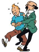 Teckna Tintin på Nobelmuseet!