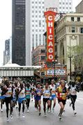 Nick and Nicole Run the Chicago Marathon