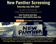 New Panther: A Call For Action