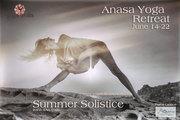 Summer Solstice Yoga Retreat- Irana Ji An YogaAnasa