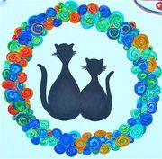 Τα λουλούδια της Πάρου για τις γάτες της Πάρου / Flowers of Paros for the cats of Paros