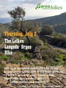The Lefkes- Langada- Dryos Hike