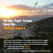 The Alyki- Trypiti Sunset Hike + Fish Fest in Alyki
