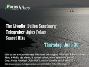 The Livadia Delion Sanctuary Agios Fokas Sunset Hike