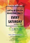 Latin & Salsa Beach Bar Party