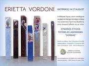 """Erietta Vordoni Art Exhibition """"Hermae"""" Totems as Landmarks"""