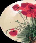 Painting & Engraving exhibition: Varlamou's  Wildflowers / Τα αγριολούλουδα του Βαρλάµου