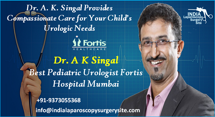 Dr. A. K. Singal Provides Compassionate Care for Your Child's Urologic Needs