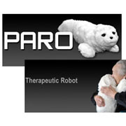 Presentation of Advanced Japanese Therapy Robot (PARO)  by Inventor Dr. Takanori Shibata