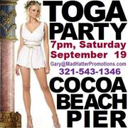 TOGA PARTY at the World Famous Cocoa Beach Pier