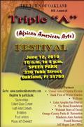 "Triple ""A"" (African American Arts)Festival and Juneteenth Celebration"