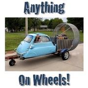 Anything on Wheels!  ...charity car/bike show