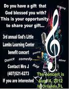 GLLLC Present their 2nd Annual Benefit Concert.