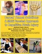 Carpal Tunnel Syndrome: A Multi-Faceted Approach for Repetitive Strain Injuries