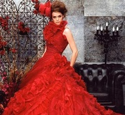 Lady in Red Ball