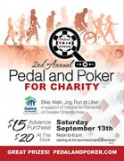 2nd Annual Pedal and Poker for Charity