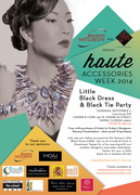 HAUTE Accessories Week: Little Black Dress and Black Tie Party