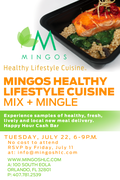 Mingo's Healthy Lifestyle Mix and Mingle