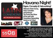 1st Friday, October 6th, 2017, featuring: Comedy, and Networking!