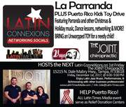 Tampa: Latin ConneXions @ THE JOINT CHIROPRACTIC on 1st Friday, Dec 1st, 2017