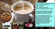 Cafe Con Cristo / Cafe with Christ Friday @ La Teresita Restaurant, October 20th, 2017