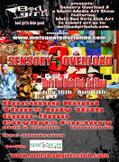 Sensory Overload this 3rd Thursday @ City Arts Factory
