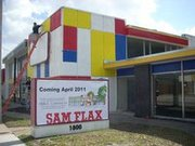 Grand Opening of Sam Flax's New Location/ Mural Extravaganza !!!